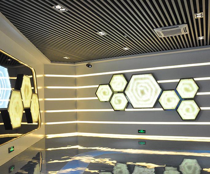 坪山区生物产业基地展厅公共建筑装修工程案例