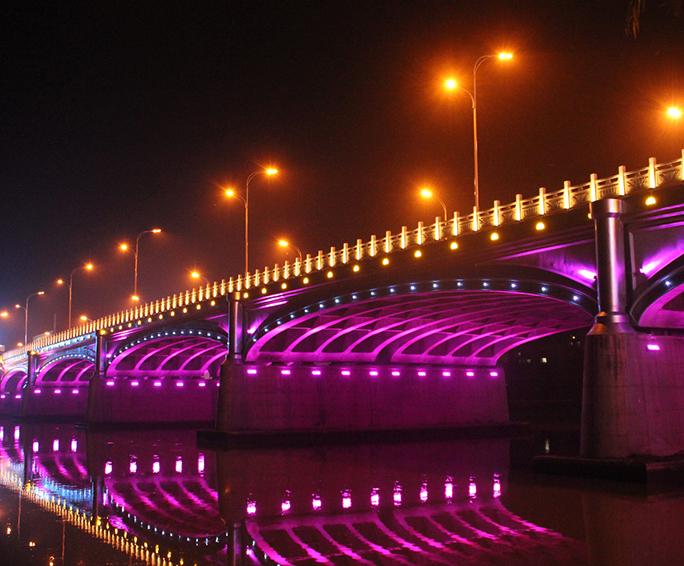 湖北随州市青年路大桥亮化工程